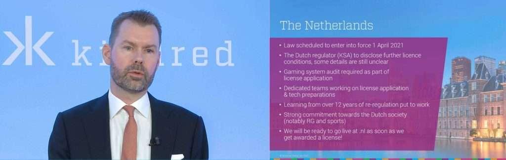 Unibet-eigenaar Kindred verwacht in Nederland live te gaan in Q4 of Q1 2022