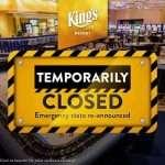 King's Resort gesloten