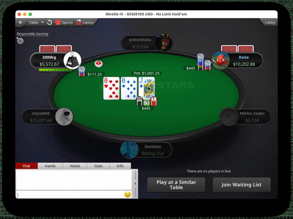 Als je een vaststellingsovereenkomst tekent, hoef je geen kansspelbelasting te betalen over winsten gemaakt op PokerStars.