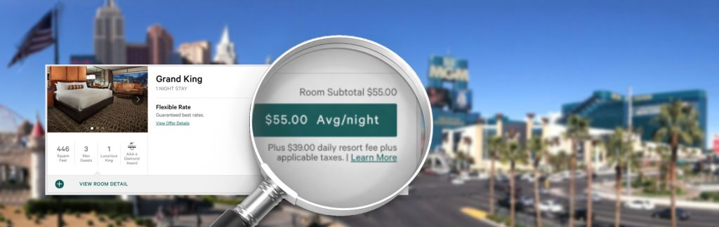 MGM aangeklaagd voor rekenen resort fees