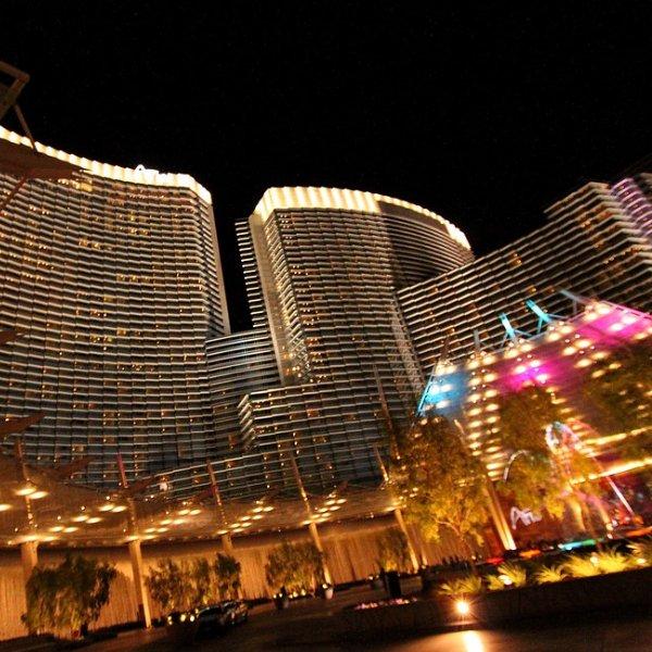 Aria staat op nummer 3 in onze Top 10 casino's en hotels aan de Las Vegas Strip.