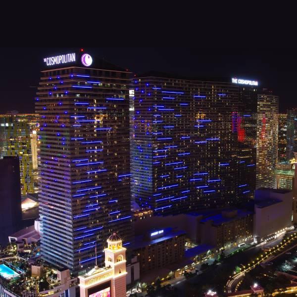 Cosmopolitan staat op nummer 1 in onze Top 10 casino's en hotels aan de Las Vegas Strip.