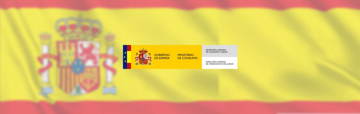 Dirección General de Ordenación del Juego (DGOJ) met Spanje vlag via CasinoNieuws.nl