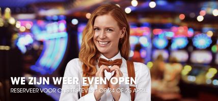 Test openen casino's gaat door, diverse tijdvakken Holland Casino uitverkocht