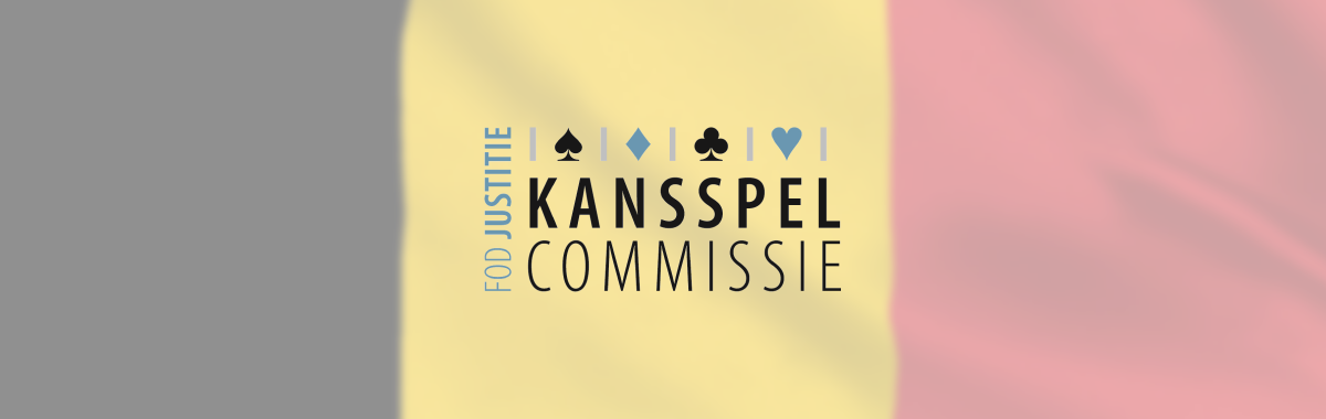 Kansspelcommissie met vlag België via CasinoNieuws.nl