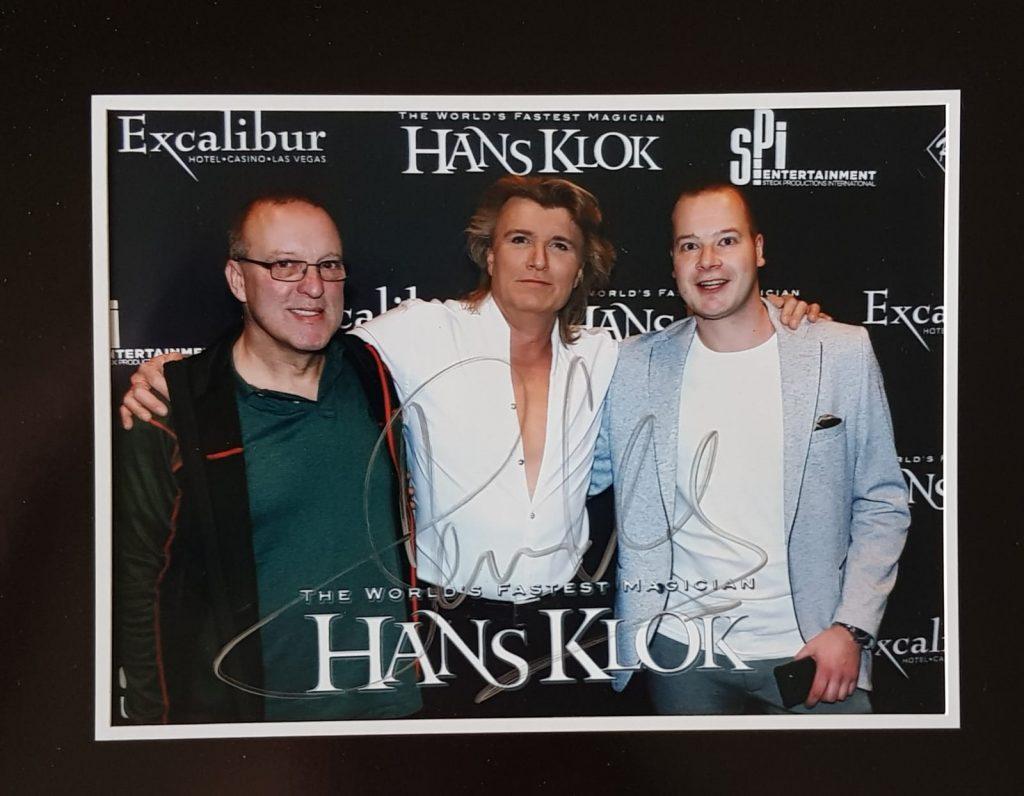 Jos Ariaans, Hans Klok, en Roy Goldschalk