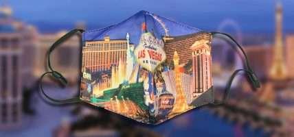 Las Vegas mondkapje en mondkapjes zijn niet meer verplicht