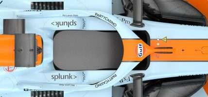 Party Casino McLaren formule 1