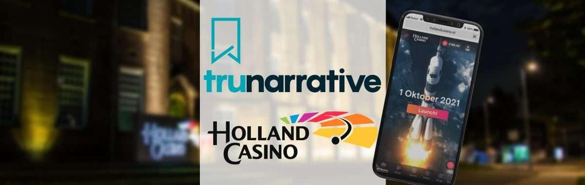 Holland Casino werkt samen met TruNarrative voor id-verificatie