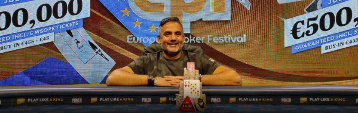 Robert Galant EPF European Poker Festival