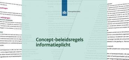 Beleidsregels informatieplicht