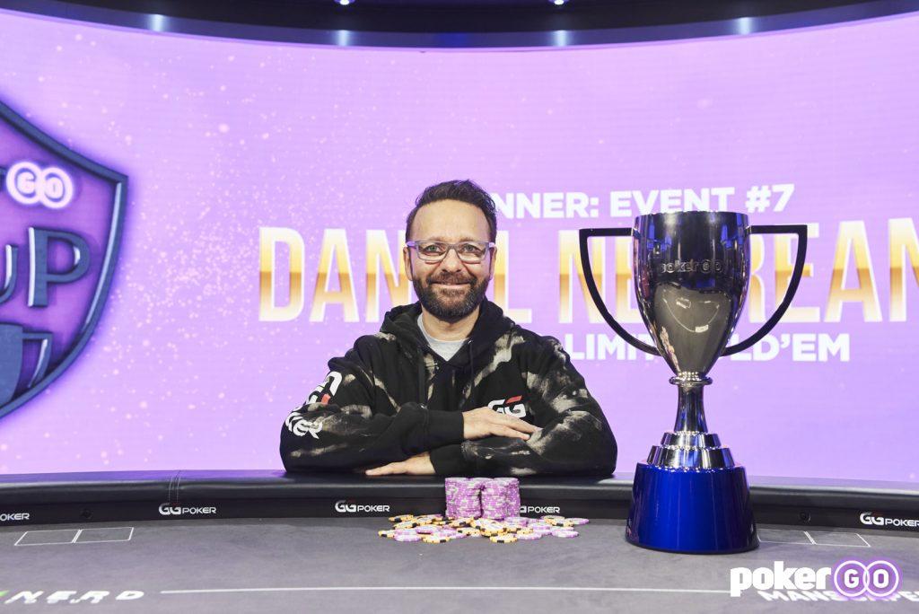 PokerGO Cup Daniel Negreanu