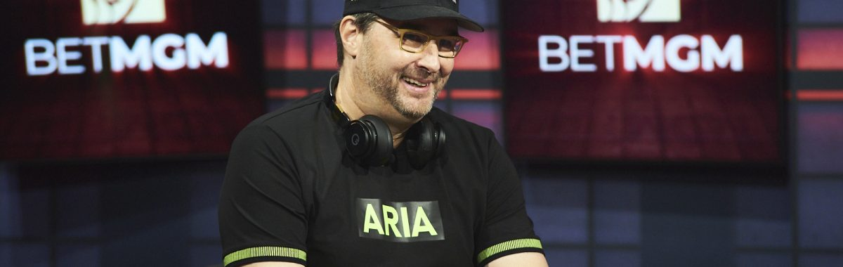 Phil Hellmuth and Nick Wright High Stakes Duel III Round 1