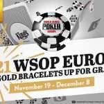 WSOPE 2021 World Series of Poker Europe 2021