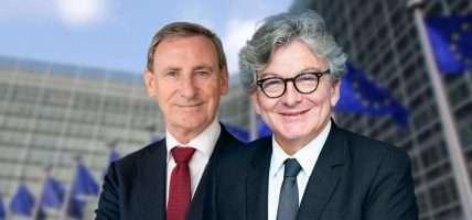René Jansen en Thierry Breton over de expertisegroep online gokken