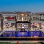 De duurste villa Las Vegas komt met een zwembad