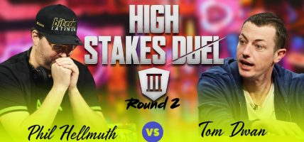 Tom Dwan Phil Hellmuth High Stakes Duel III
