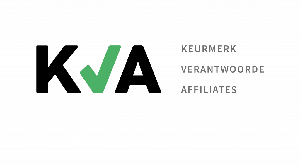 Keurmerk Verantwoorde Affiliates KVA logo via CasinoNieuws.nl