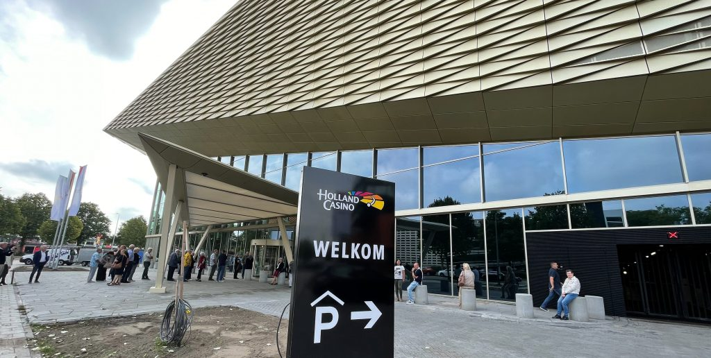 Holland Casino Utrecht parkeren welkom rij