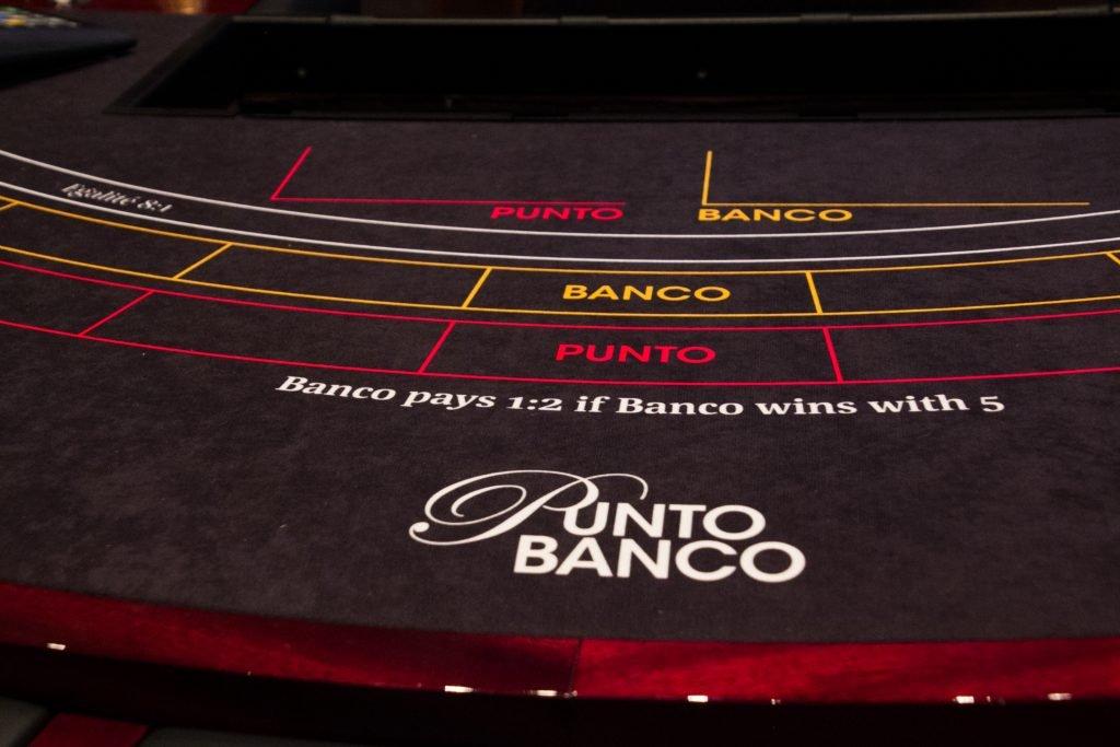 Holland Casino Utrecht High Limit Punto Banco baccarat