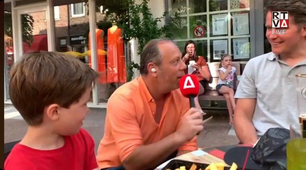 Nicky Roeg afgelopen Ek voor Amstelveen tv