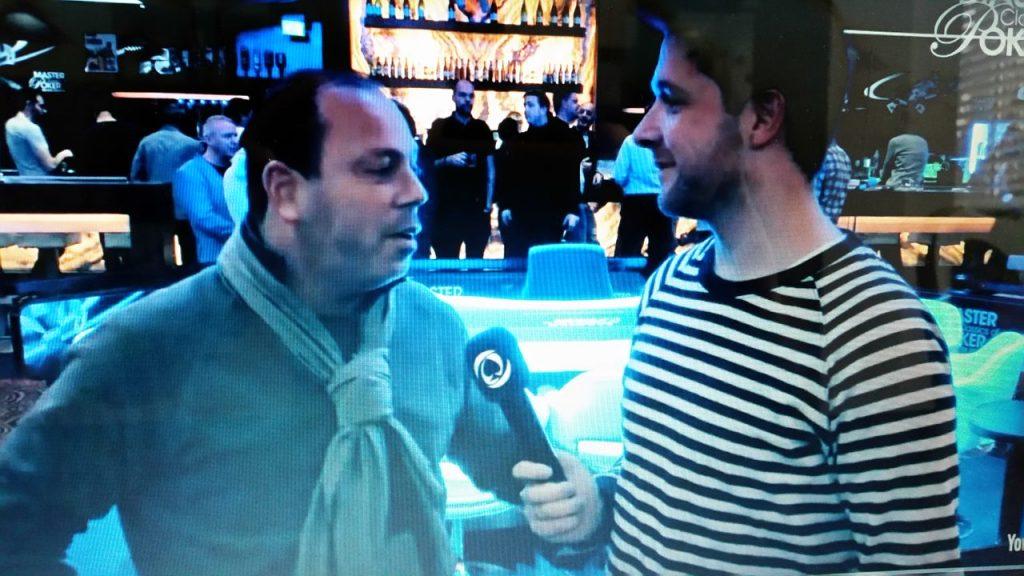 Nicky Roeg als speler met Frank Op de Woerd