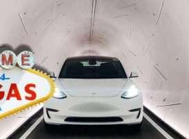 Boring Las Vegas tunnel Elon Musk