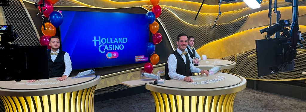 Holland Casino Online interview live casino